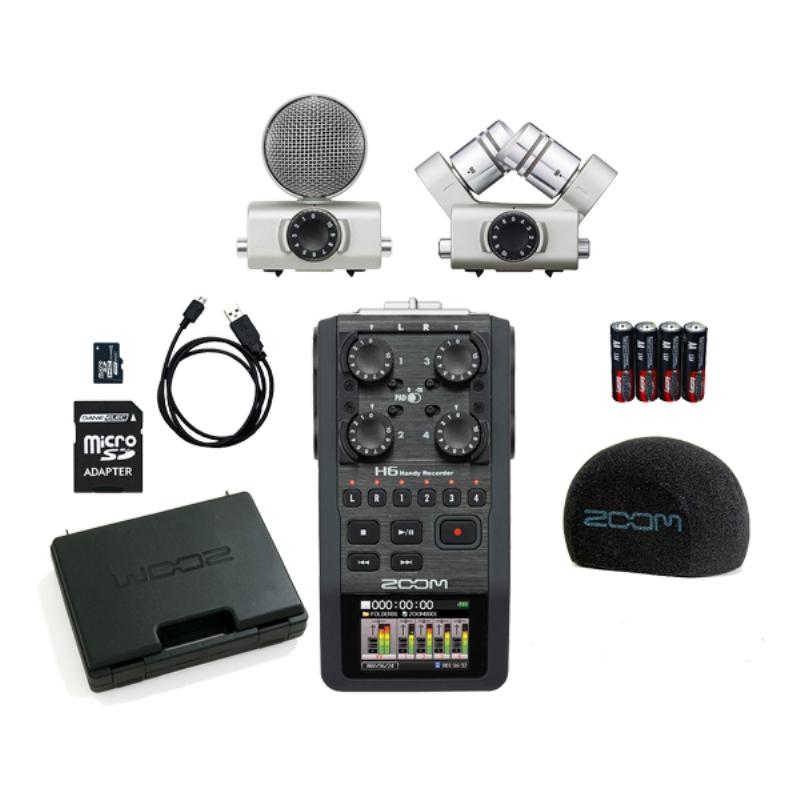 Zoom H6 Dijital Ses Kayıt Cihazı